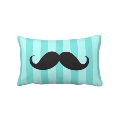 Kailey!! Cute Mustache Pillow :D