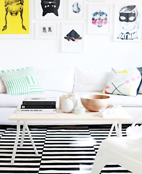 Simple DIY Coffee Table In Scandinavian Style   Shelterness
