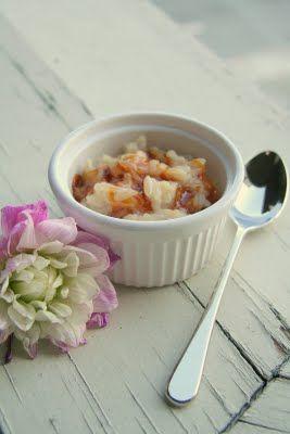 Jasmine Tea-infused Rice Pudding