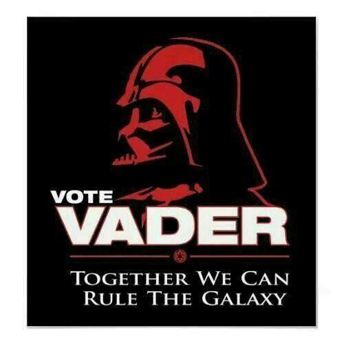 Vader Vote Darth Darth Vader