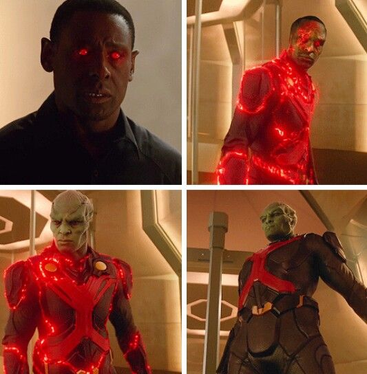 """I'm a sola survivor of my planet. The last son of Mars. My name is J'onzz J'onn"" #Supergirl #1x07"