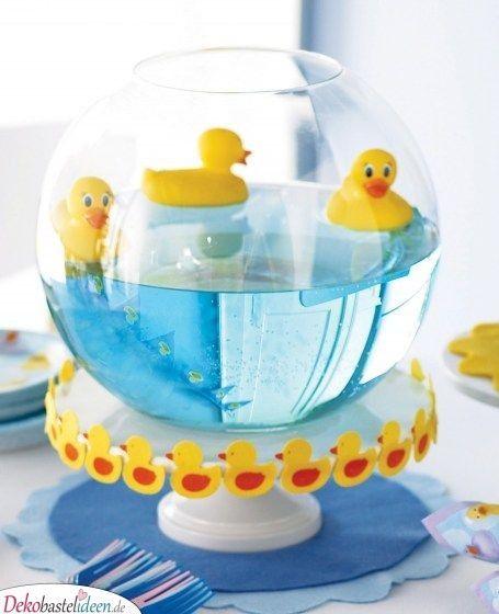 25 super babyparty deko ideen zum selbermachen baby shower deko baby shower duck baby