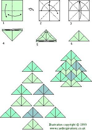 Origami Tea Bag Folding Tree