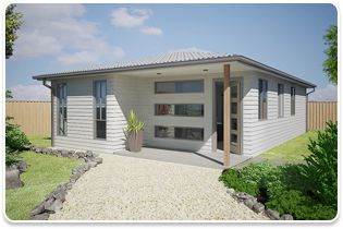 Flats australia and granny flat on pinterest for House with granny flat design