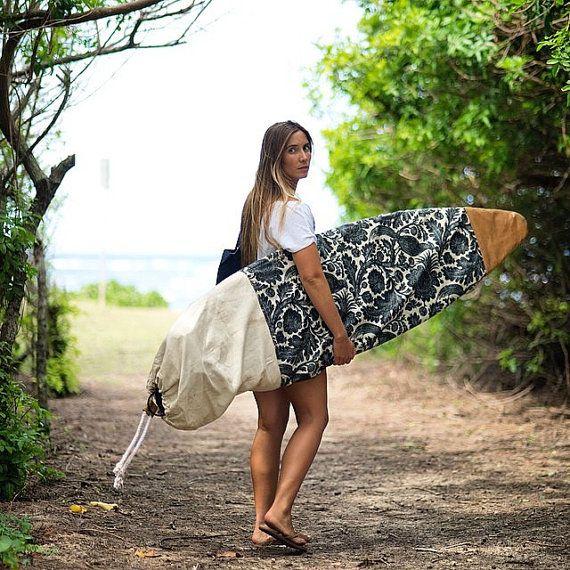 Salty Socks - Surfboard Cover handmade by the sea