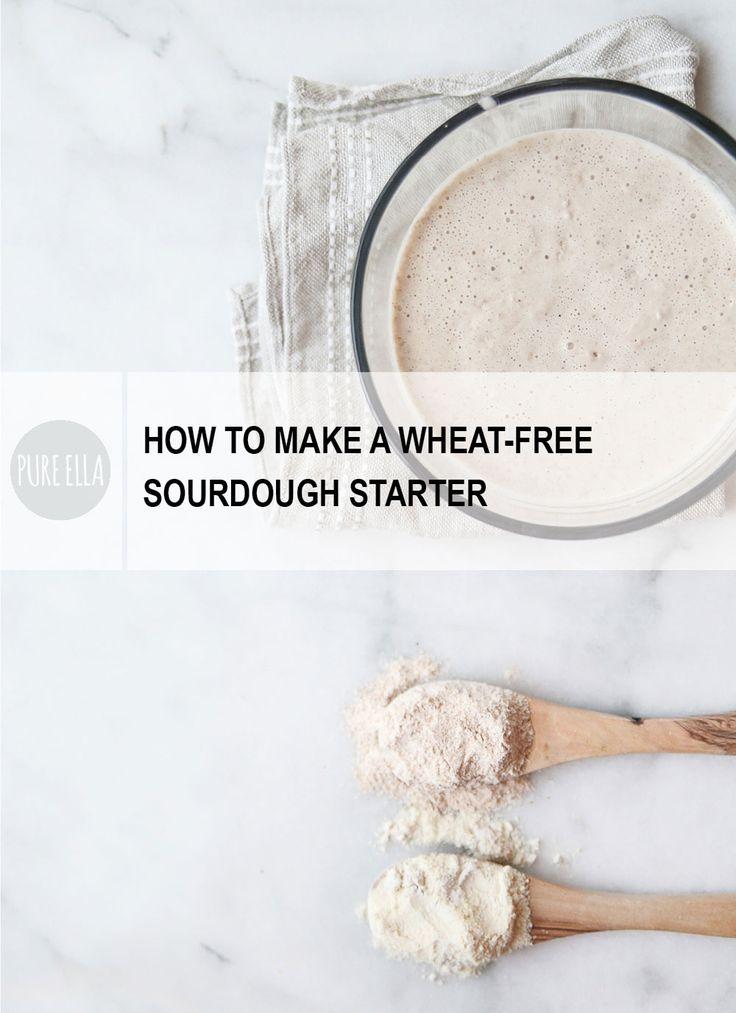 How to Make a Wheat-free Sourdough Starter