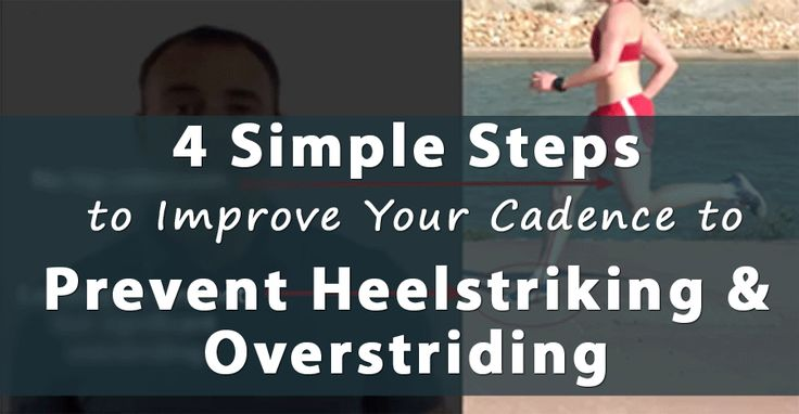 Research has shown and runner's know overstriding leads to injury. But, how do you correct your form if you are overstriding? Here is a simple 4 step process to easily fix your overstriding problem: http://runnersconnect.net/running-training-articles/heelstriking-running-cadence/