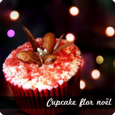 Flor Noël #cupcake