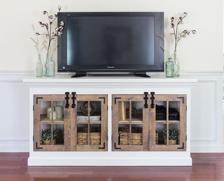 Best 25 Farmhouse media cabinets ideas on Pinterest  G