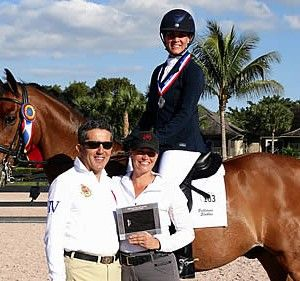 Jumper-Turned-Dressage Rider Honored by Piaffe Performance at Adequan Global Dressage Festival