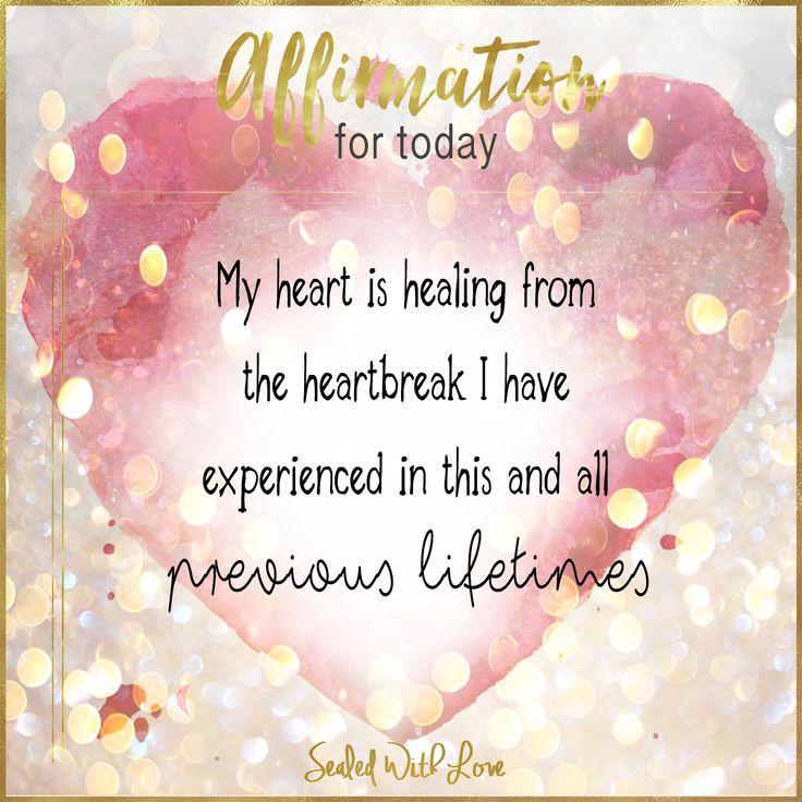 Healing heart affirmation