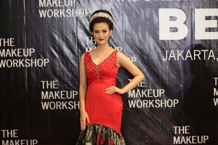 Makeup by Bennu pada acara THE MAKEUP WORKSHOP Jakarta, 12 Maret 2015