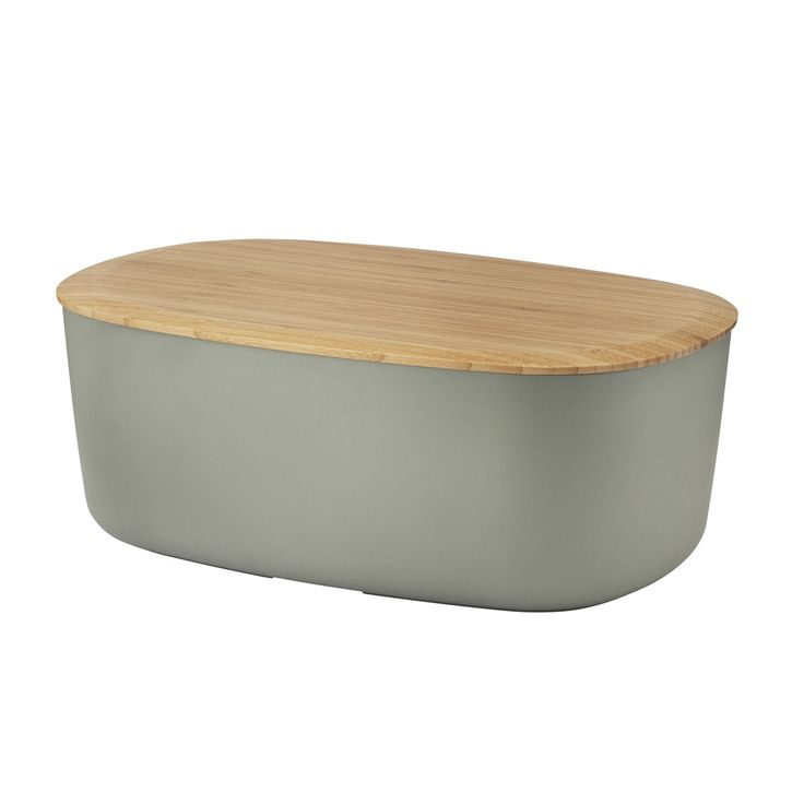 £30 Rig-Tig by Stelton - Box-It Bread Box, grey