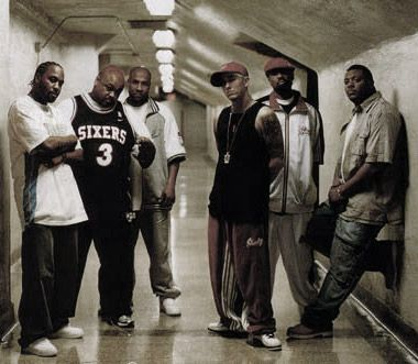 D12, an initialism for The Dirty Dozen, is an American hip hop group from Detroit, Michigan. D12 has had chart-topping albums in the United States, United Kingdom, and Australia. D12 was formed in 1996, and achieved mainstream success after Eminem rose to international fame.