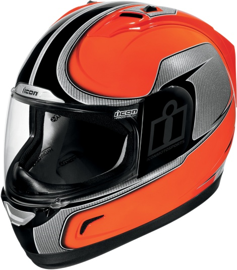 When it comes to motorcycle safety - we believe the best possible protection is avoiding the crash altogether. Such was the reasoning behind the Alliance� Hi-Viz helmet. Painted in a UV-resistant fluorescent color and affixed with reflective graphics, the Hi-Viz will dramatically increase your day or night conspicuity. See and be seen. from Icon Motosports