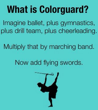 Yep, Colorguard.