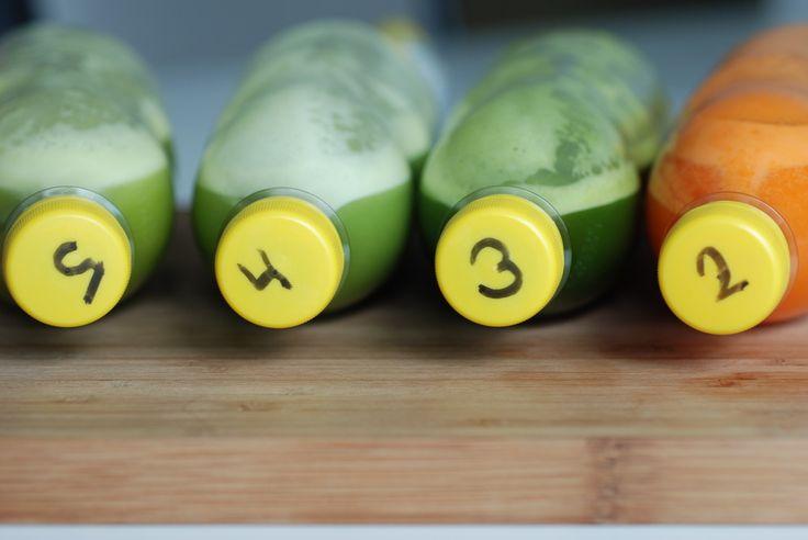 Juicefaste dag 2 juice 2, 3, 4 og 5