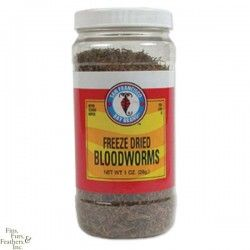 San Francisco Bay Brand Freeze Dried Bloodworms 1/2 oz.