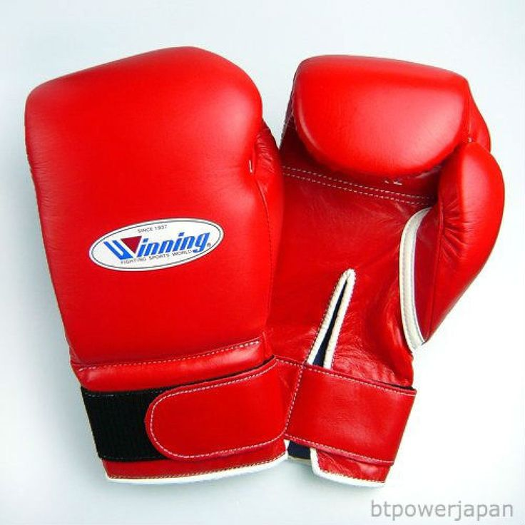 F/S Winning Boxing Gloves 16oz Professional type Velcro MS-600-B Red from Japan #Winning