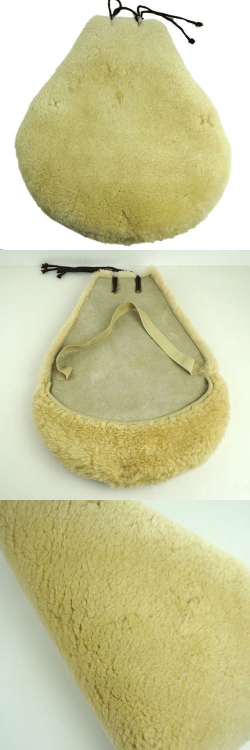 Saddle Covers 183416: Sheepskin Western Saddle Seat Saver Wool Saddle Cover Fleece Horse Pad 9D-Dc -> BUY IT NOW ONLY: $45.99 on eBay!