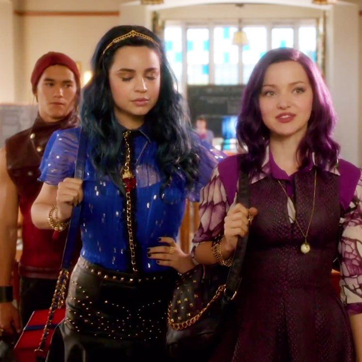 Pin for Later: Descendants Trailer: The New Generation of Disney Villains Is Pretty Sassy
