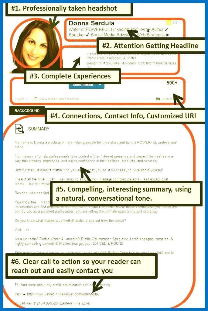 Linkedin Resume Template Sample Resumes On Best Resume Template