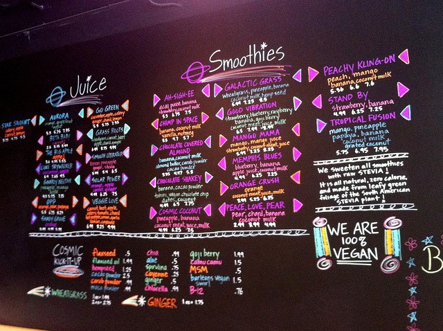 Get your juice fix at Cosmic Coconut, a vegan juice and smoothie bar in East Memphis.
