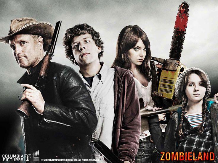 """Zombieland. """"I killed Bill Murray!?!"""""""