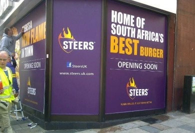 Steers to open in London next month