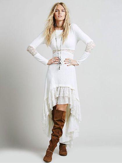 Boho dress / Платья ручной работы. Ярмарка Мастеров - ручная работа. Купить Богемное платье с открытой спиной. Handmade. Богемное платье