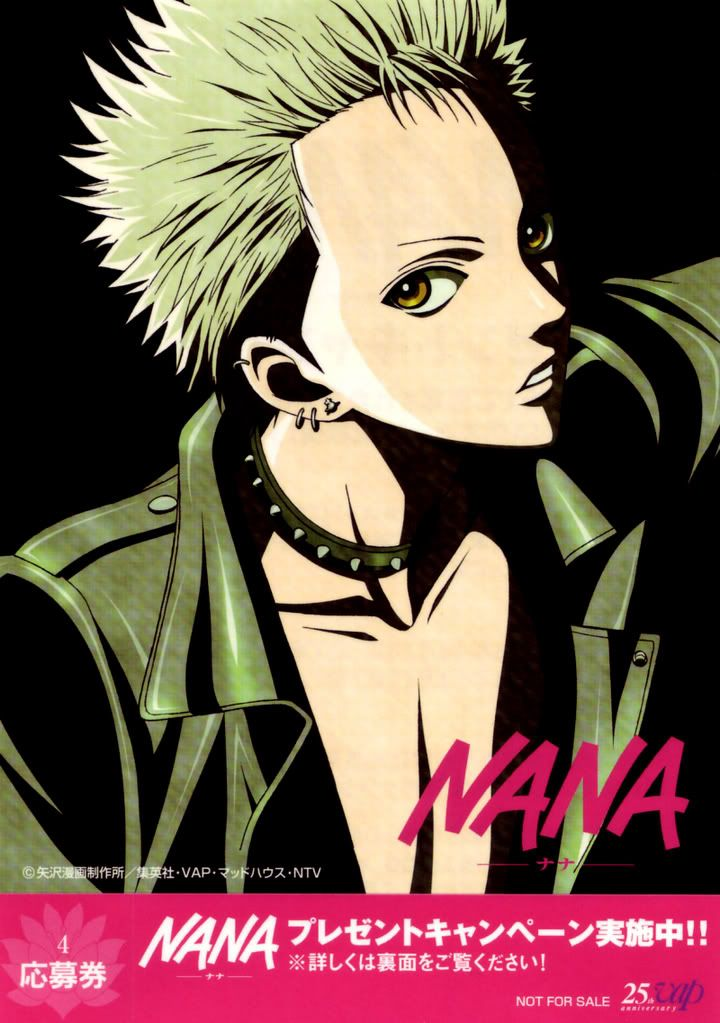 Hot Nobu from Nana Nana, Good manga, Anime