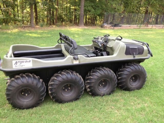 Four Wheeler With Rims: 2009 Argo Atv 8X8 AVENGER 6-Wheeler , 57 Miles For Sale In