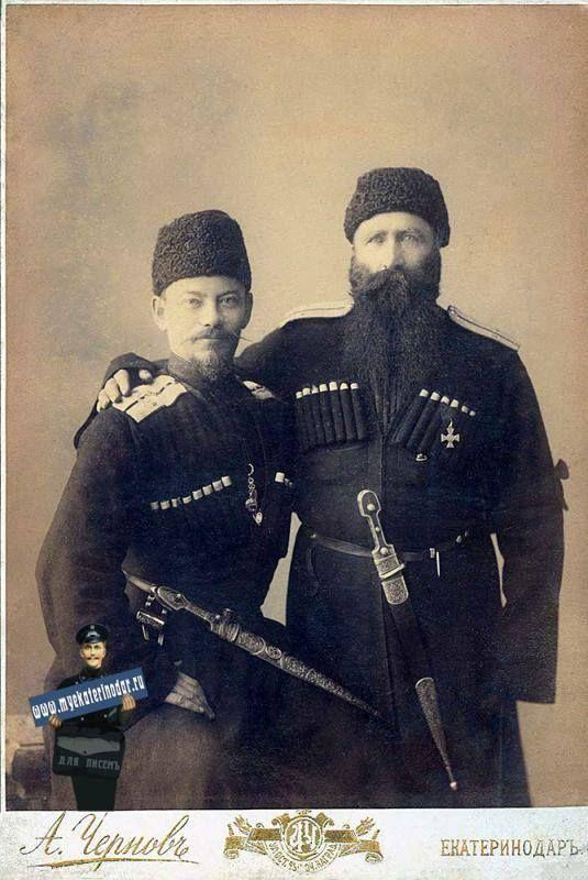 To the right is Dzhambot (Dzhambulat) #Zaurumov - Abazinian #prince. Справа стоит Джамбот (Джамбулат) #Заурумов - абазинский #князь.