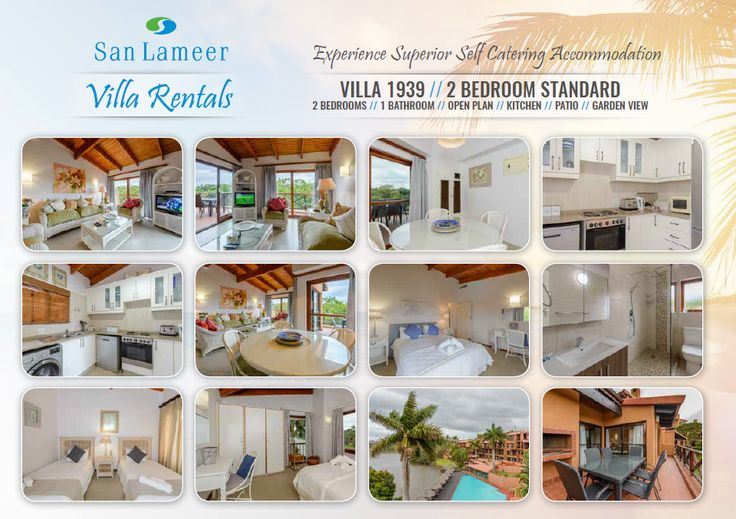 Looking for an incredible 2 bedroom villa to take the family on holiday? We have one you will not want to leave once you arrive... View it and more: http://sanlameer.co.za/self-catering-villas