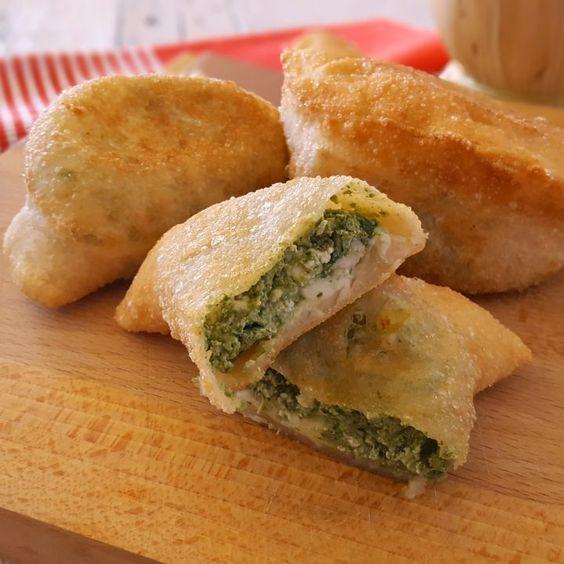 Panzerotti spinaci e ricotta versione alle verdure irresistibili
