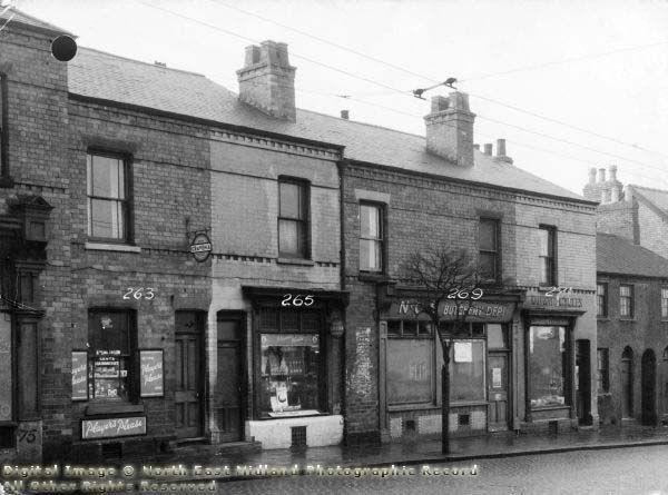 262-271 Ilkeston Road, Radford, Nottingham, 1949