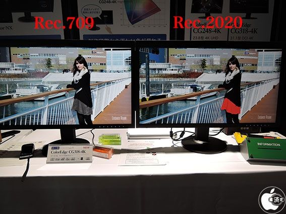 "TECH: LCD Display: EIZO: 4K: After NAB Show Tokyo 2015: EIZO, 4K monitor exhibited ""CG248-4K"" ""CG318-4K"" 