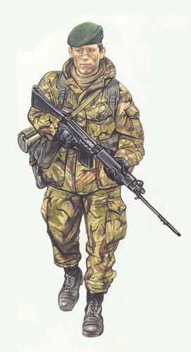 40 Commando RM, Falkland Islands 1982