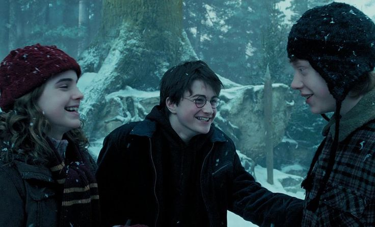 Because laughing with your friends was everything harry