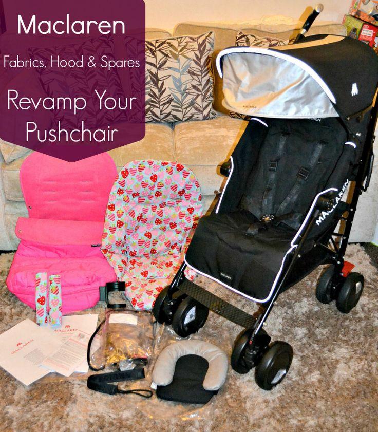 Maclaren Fabrics, Hoods & Spares - Revamp your Pushchair!