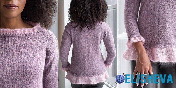 Новая коллекция вязания от Vogue Knitting: Holiday 2017 Fashion Preview