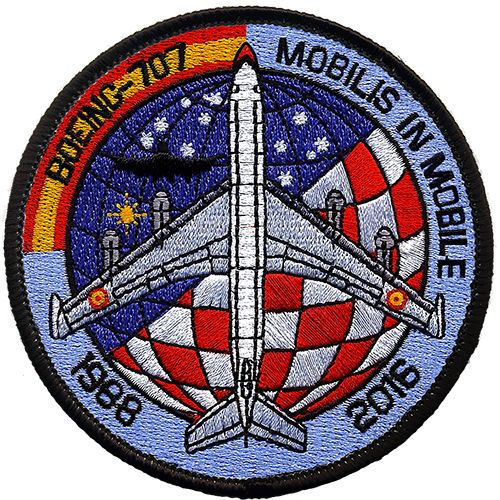 Parche-B-707-Ejercito-Aire-Spanish-Air-Force-patch-Military-Army-Espana-Spain