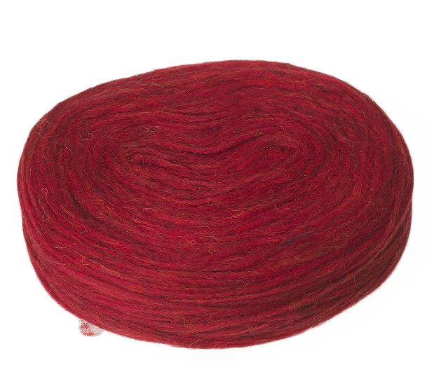 Plötulopi 1430 - carmine red heather - available at alafoss.is #yarn #knitting #wool #icelandic