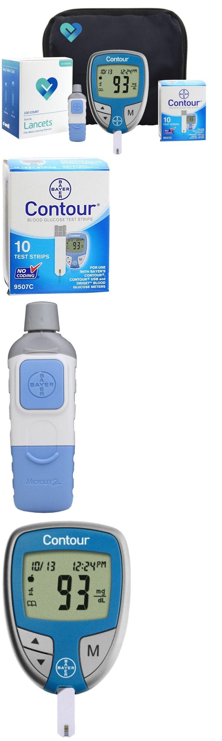 Monitoring Kits: Diabetes Test Kit Tester Diabetic Test Strips Blood Sugar Glucose Meter Machine -> BUY IT NOW ONLY: $38.46 on eBay!