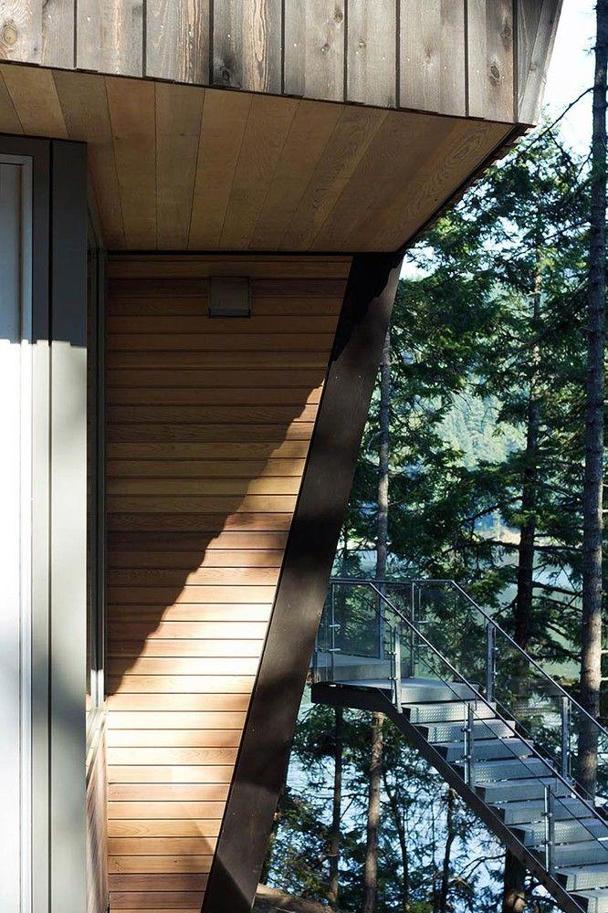 Gallery Of Gambier Island Retreat Battersbyhowat Architects 16 Gambier Island Modern Cabin Architect