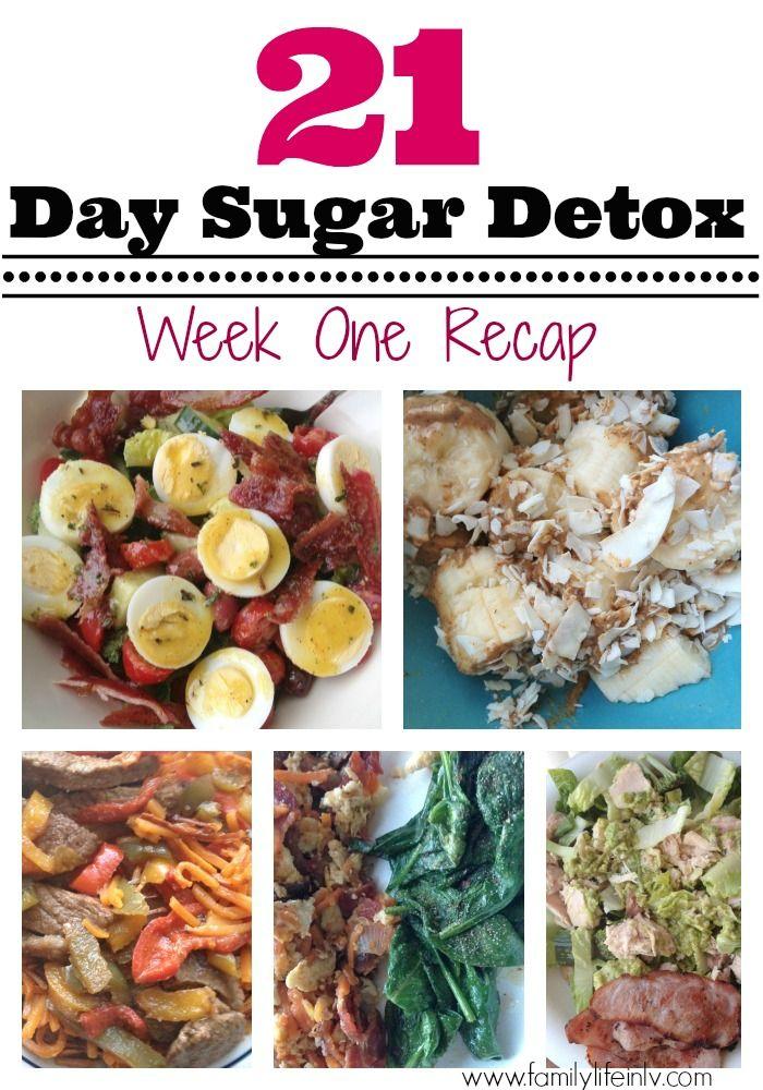 21 Day Sugar Detox Week 1 Recap