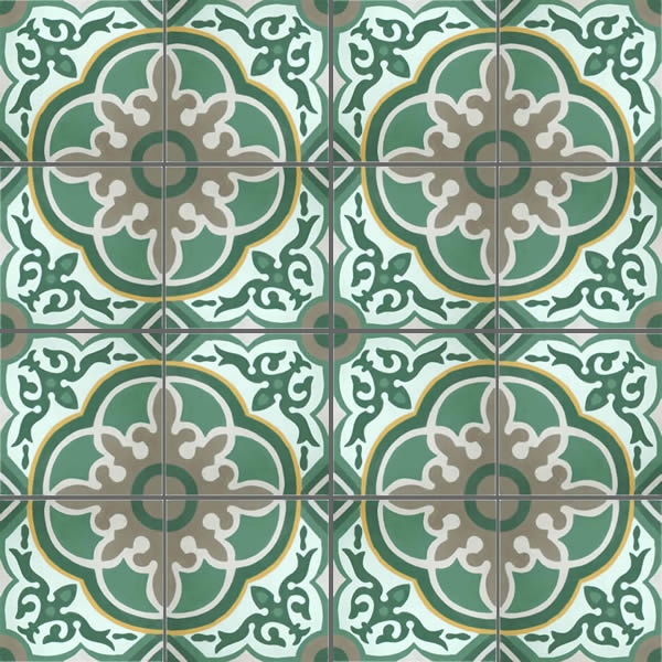 16 Morrocan Tiles pattern