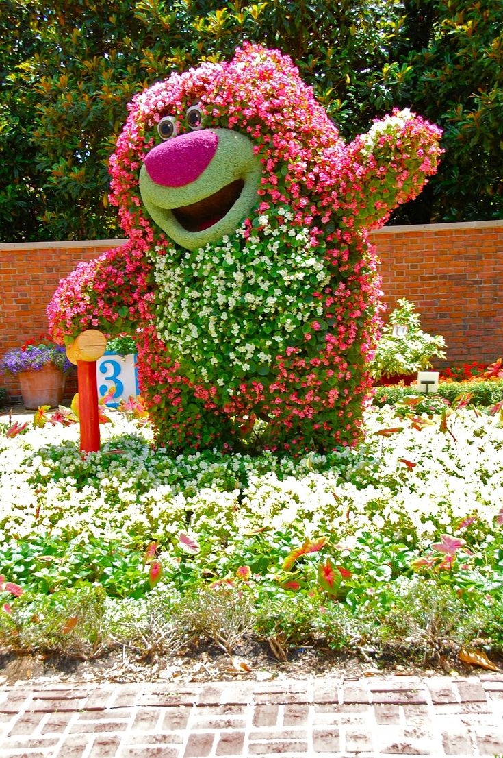 So cool!! This was at the Epcot International Flower and Garden Festival