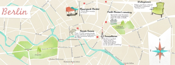 """""""Berlin in your pocket"""" by Veronica Cerri: Big Cities, Favorite Places, Cities Maps, Euro Trips, Places I D, Veronica Cerri, Drinks, Berlin Germany, Berlin Maps"""