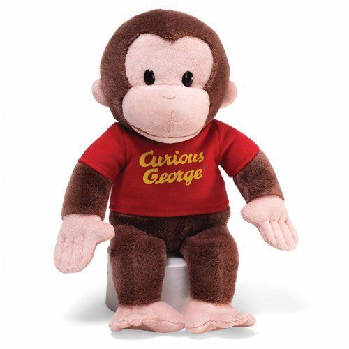 Gund Curious George Stuffed Animal, 12 inches: Toy: Toys & Games